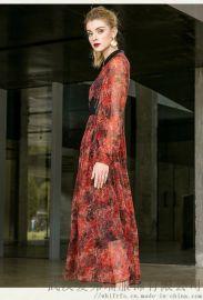卡尼欧2020春五分袖宽松中长款裙子进货要注意什么