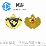 哪里有做浮雕徽章压铸徽章纯铜司徽生产