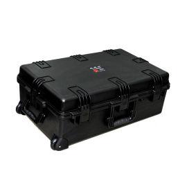 三**行注塑箱安全箱 精密仪器设备拉杆运输包装箱