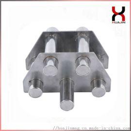 注塑机挤出机专用磁力架 9管料斗磁力架 单层磁力架