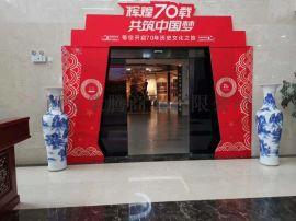 西安开业庆典大花瓶 陕西迎客松花瓶 免费送货