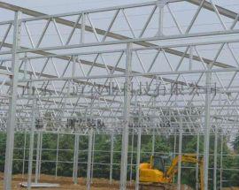 温室大棚安装队/施工队 玻璃智能温大棚