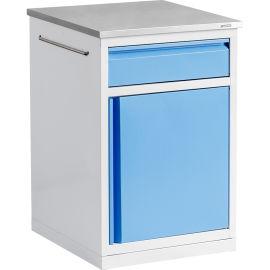 SKS005-101床头柜 塑钢一体床头柜