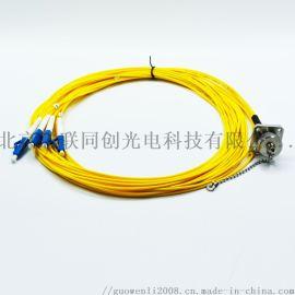 ODC-4芯光纤连接器 防水连接器 光纤插头 光纤插座 IP67防水接头