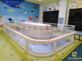 山东日照钢化玻璃婴幼儿游泳池设备伊贝莎
