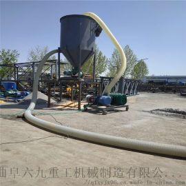 龙门架气力吸粮机 槽式给料机 ljxy 粉料中转气