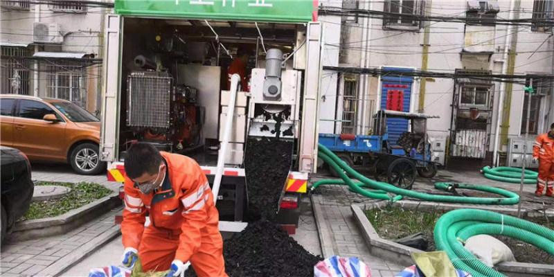 城市粪便处理设备 净化新型环保吸粪车