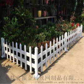 蔬菜园塑钢围栏,草坪护栏绿地围栏,路边安全防护栏杆