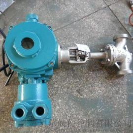 扬州贝尔 J961Y-25P DN65不锈钢防爆焊接 电动截止阀