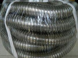 热镀锌金属软管国标穿线波纹管 4分 6分