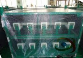 现货1.52米宽100米长pvc透明夹网布 高强丝