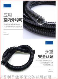 包塑金属穿线软管单扣型内径100mm