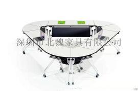 智慧学习桌椅-互动课堂桌椅-培训桌学习桌