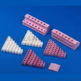 注塑机加热圈密封氧化铝多孔带槽陶瓷条电热陶瓷配件加工