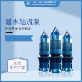 井筒式安裝QZ潛水軸流泵生産廠家