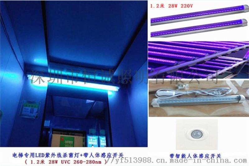 紫外線消毒燈 殺菌燈紫外線 電梯殺菌燈