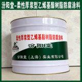 柔性厚漿型乙烯基酯樹脂防腐塗料、方便、工期短
