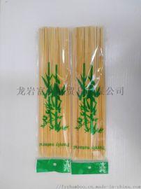 2.5mm散装烧烤签PE袋烧烤签  定制包装竹签