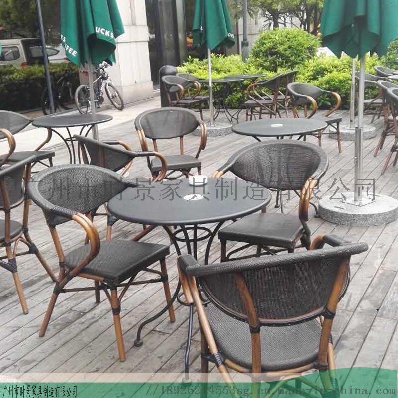 生产实木编藤新中式家具--牛角椅定制--休闲桌椅