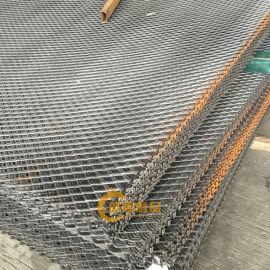 三亚金属钢板网-金属拉伸网 菱形铁网 冲压钢笆网