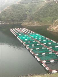 【福利渔网】专业生产钢结构养殖网箱 深水养鱼网箱