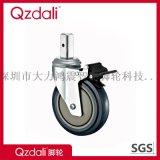 醫療鍍鋅腳輪方形插杆腳輪