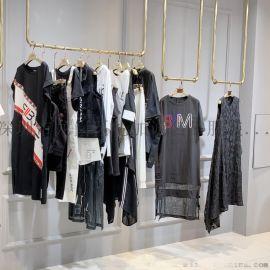 原创黑白潮牌己为2020年夏品牌折扣女装一手货源