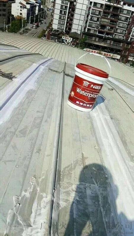 耐博仕樓面補漏彈性強防水塗料高彈抗裂寶