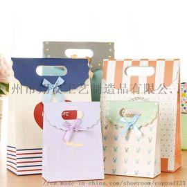 礼品袋彩色制作多种印刷技术 牛皮纸白卡纸纸袋定制