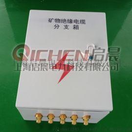 矿物电缆T接箱 防火电缆终端分支箱 铜排分支转接箱