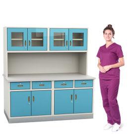 SKH055A 上櫃操作臺 藥品調劑櫃 藥櫃