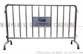 不锈钢铁马护栏 不锈钢铁马围栏 交通安全防护栏