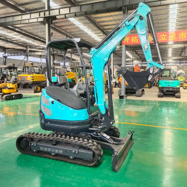 岳工2吨小型挖掘机 履带式挖掘机 小型挖掘机