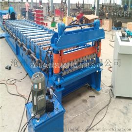 840/900单层压瓦机 定制压瓦机 彩钢瓦压型机
