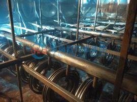 加热水箱罐子不锈钢水箱盘管换热
