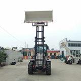 叉車叉磚專用系列 舉升4.2米四驅越野燃料叉車