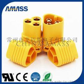 电机专用三芯接头MT60,大电流三芯接头MT60