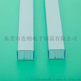 透明包装管厂家直销无毛边IC塑料管吸塑管