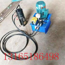 钢筋套筒冷挤压机全自动一次三道挤压机