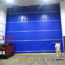 河南工业快速门_自动卷帘门_柔性堆积门厂家