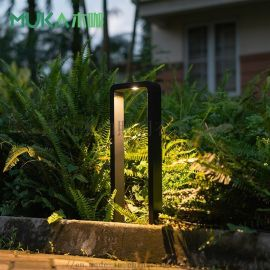 工厂直销LED7W方形户外草坪灯IP65草地灯