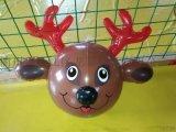 pvc充氣球 動物球 鹿頭球