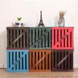 實木復古收納箱子木質儲物箱特大號 雜物箱三件套