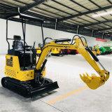 生产自走式小微型农用挖掘机报价全新柴油履带式小挖机