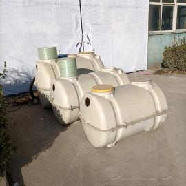 生产污水池玻璃钢一体化化粪池污水处理沉淀池
