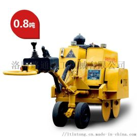 哈尔滨0.8吨手扶全液压单钢轮压路机