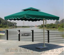 厂家单边伞 岗亭遮阳伞 庭院伞侧立伞、铝合金大伞、罗马伞