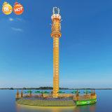 遊樂場項目跳樓機,新款高空飛行塔遊樂項目啤酒跳樓機