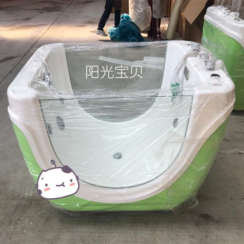 雙面玻璃嬰兒游泳池,嬰兒洗浴池,兒童游泳設備