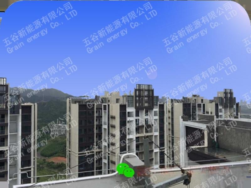 河南驻马店200kWp太阳能光伏发电项目